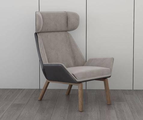 沙发椅, 单人椅, 现代