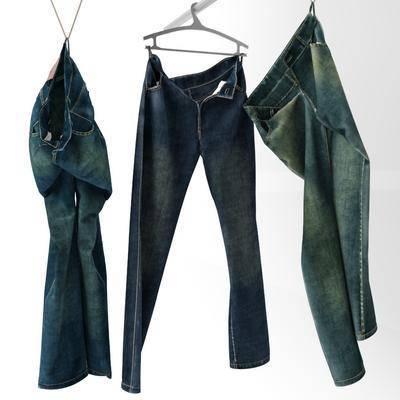 现代牛仔裤组合, 现代, 牛仔裤, 裤子