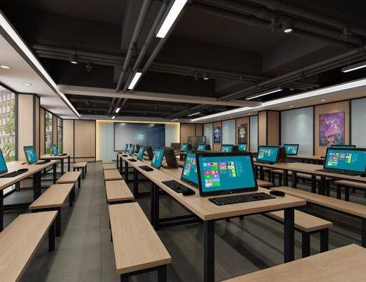 教室, 工业风教室