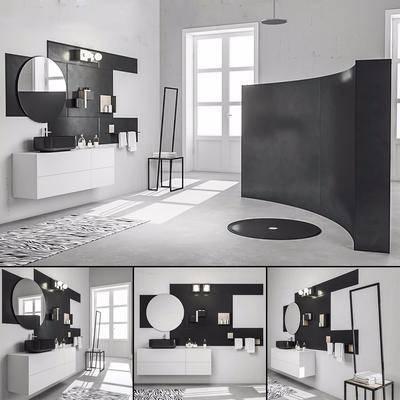 浴室家具, 现代