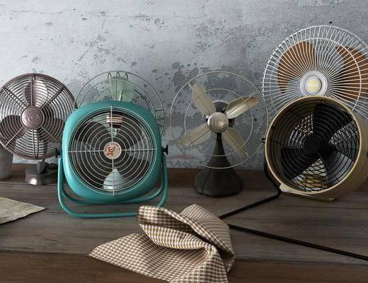 风扇, 空调, 电器