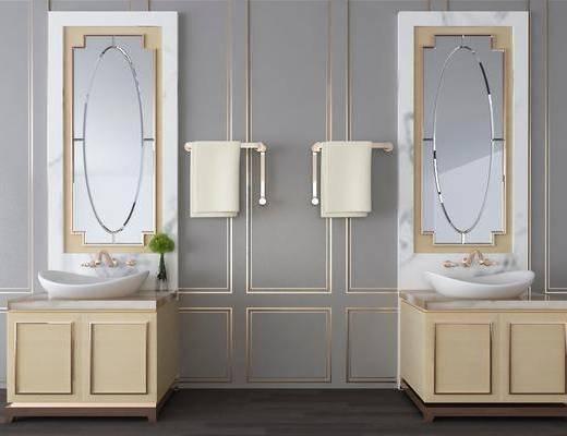 洗手盆, 现代洗手盆