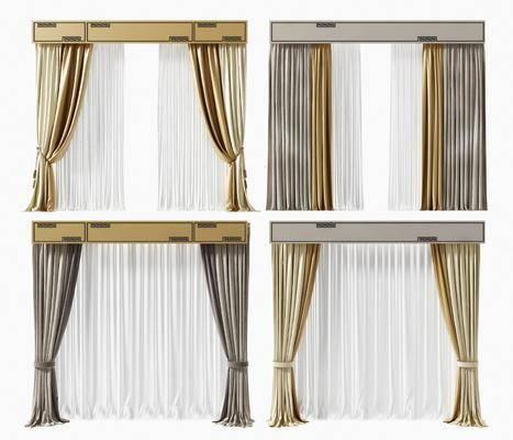 窗帘, 窗帘组合