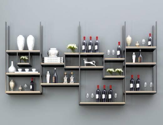 酒架, 装饰酒架, 现代酒架, 餐厅酒架, 个性酒架, 创意酒架, 瓶酒架