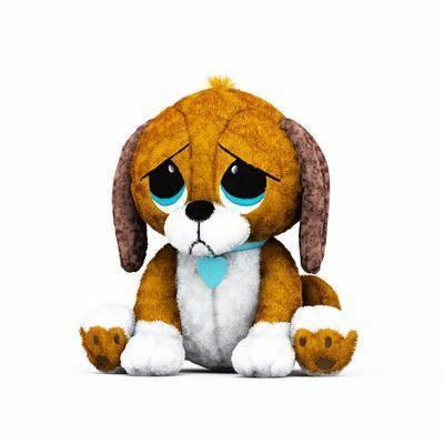 玩具, 小狗, 布偶, 摆件