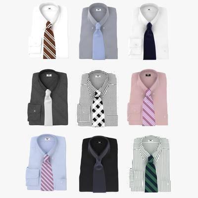 现代, 西装, 领带, 服装组合, 男装, 男性, 服装, 服饰