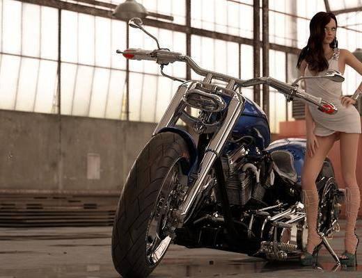 摩托车, 机动车, 交通工具