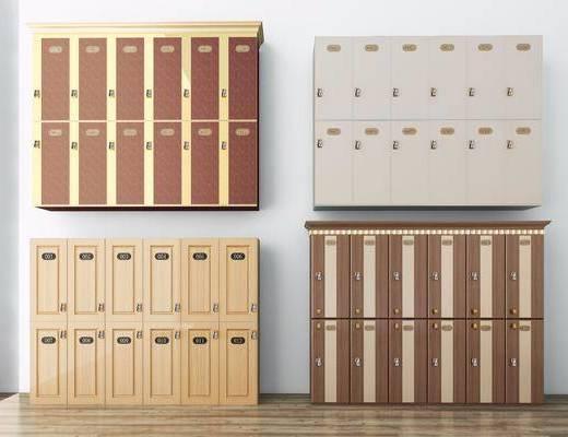 储物柜, 置物柜, 密码柜