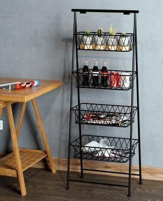 摆件组合, 装饰柜架, 置物柜