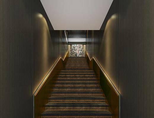 后现代楼梯, 楼梯