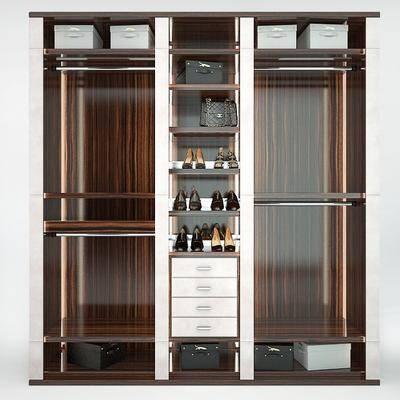 现代装饰架柜, 现代, 装饰架, 鞋子, 包包