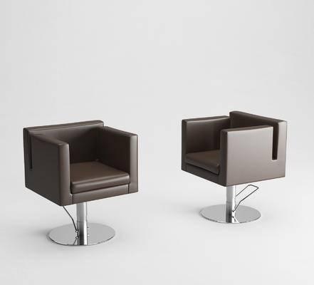 单椅, 理发椅