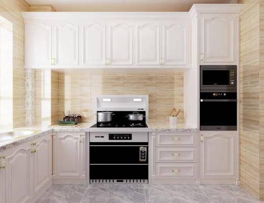 橱柜, 装饰柜, 厨具, 现代