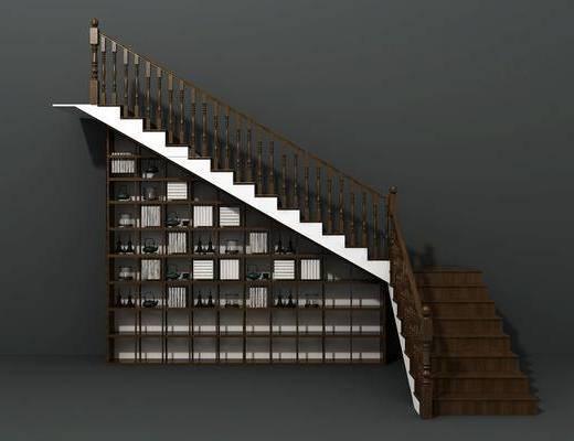 楼梯间, 储物间