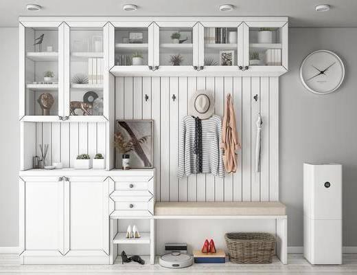 現代, 鞋柜, 柜架, 組合
