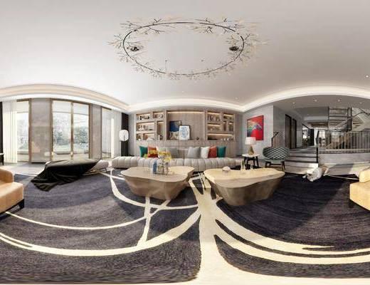 现代客厅, 客厅