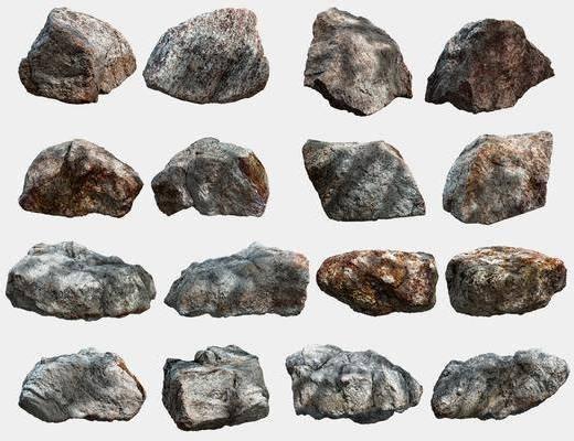 石塊組合, 石頭組合, 現代