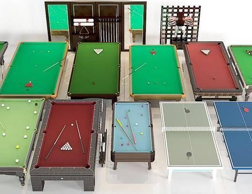 桌球, 游乐设施