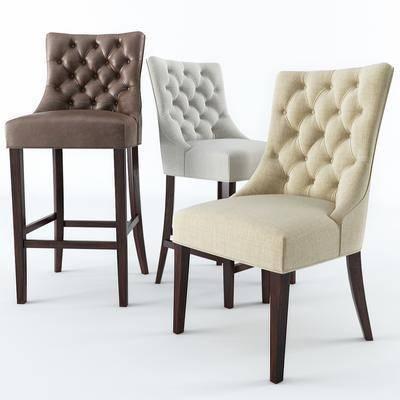 現代, 單椅, 吧椅, 休閑椅, 餐椅