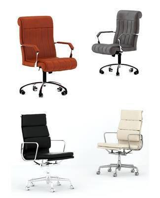现代, 办公椅, 单体