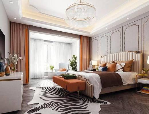 卧室, 欧式卧室