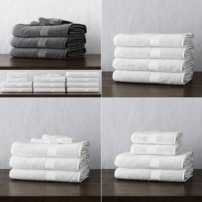 毛巾, 现代