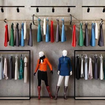 衣架, 服饰, 现代