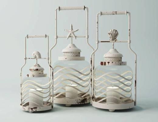 蜡烛台, 装饰灯, 摆件, 陈设品, 现代