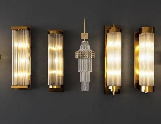 壁灯组合, 中式