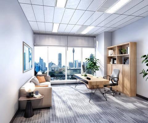 现代办公室, 办公室, 经理办公室