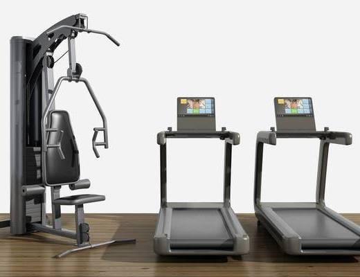 运动器械, 跑步机, 健身器械