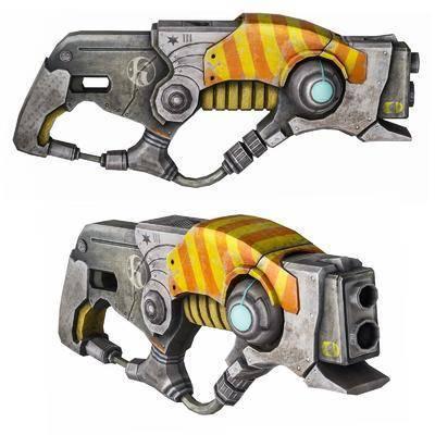 激光器, 科幻玩具