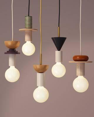 吊灯, 现代北欧吊灯