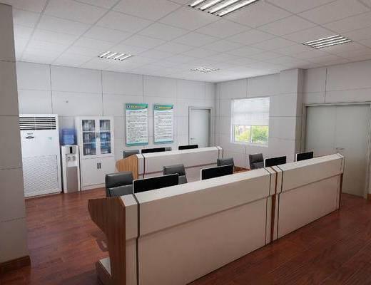 工装, 现代监控室