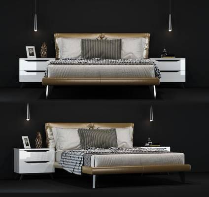 床, 床品, 床头柜