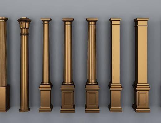 罗马柱, 柱子, 欧式