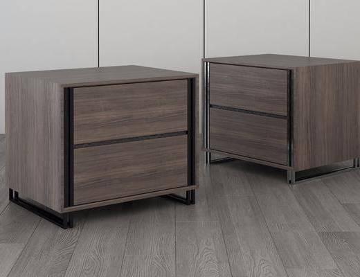 床頭柜, 現代