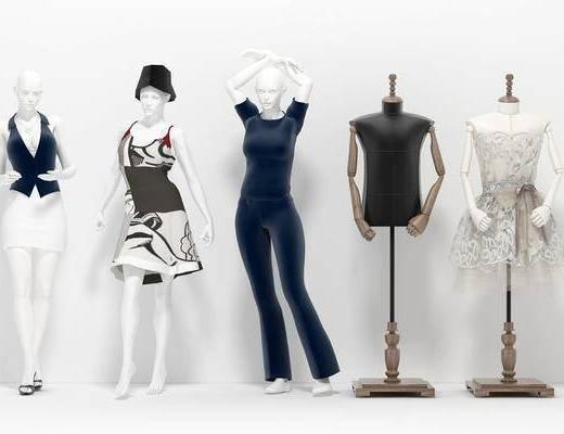服装模特, 现代