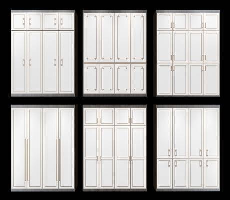 衣柜, 新中式衣柜, 双开门衣柜