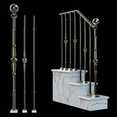 楼梯扶手, 扶手, 护栏, 现代