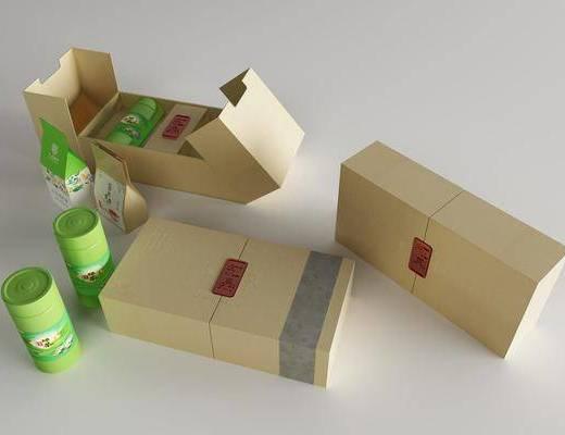 包装盒, 纸盒