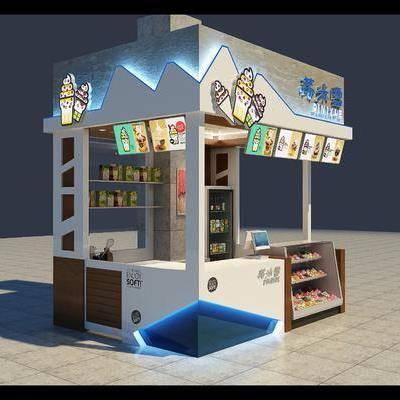 冷饮店, 现代, 饮料店
