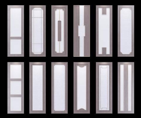 柜门, 新中式柜门, 衣柜门, 板移门, 新中式