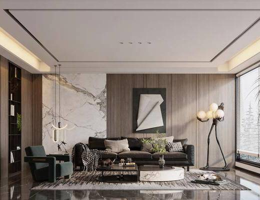 家装, 现代轻奢客厅