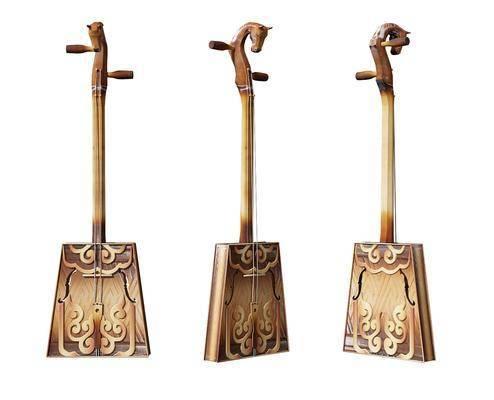 中式传统乐器马头琴
