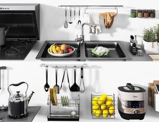 廚房用品, 廚具組合, 電器組合, 現代