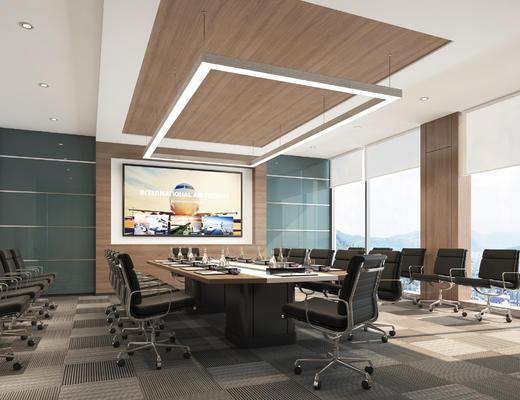 会议室, 空间, 开会区, 办公区