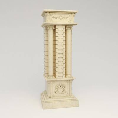 柱子, 罗马柱, 巴洛克, 欧式柱子, 法式柱子