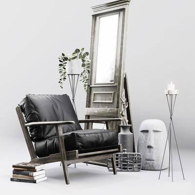 單人沙發, 沙發
