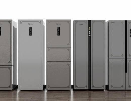 新中式, 冰箱, 冰柜